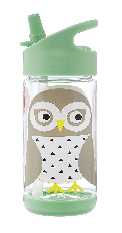 breed bereik glad hete verkoop online 3 Sprouts Water Bottle Kids Small Spill Proof 12oz. Plastic Spout Water  Bottle, Mint, Owl