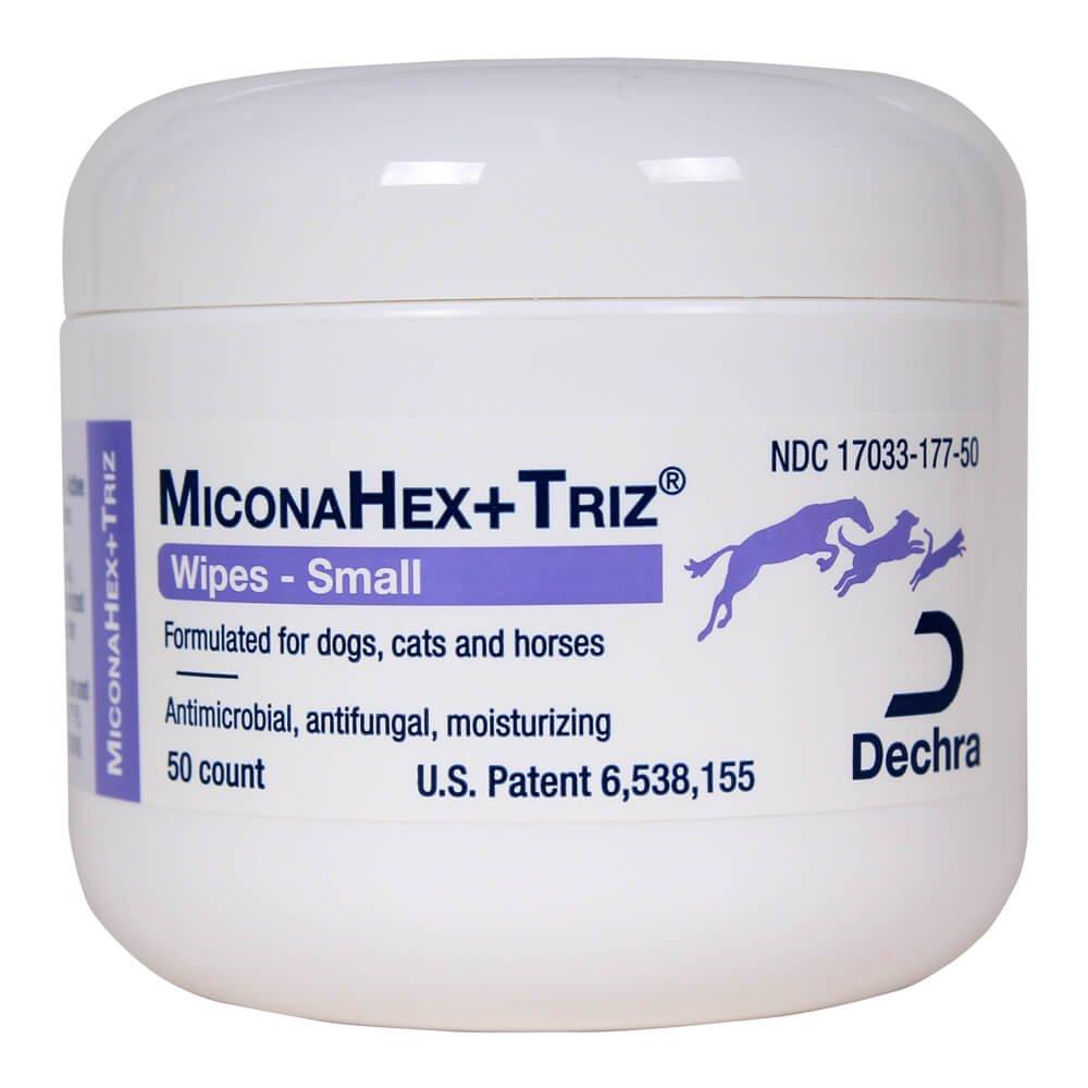 Dechra Miconahex - Toallitas (50 unidades, incluye triz): Amazon.es: Productos para mascotas