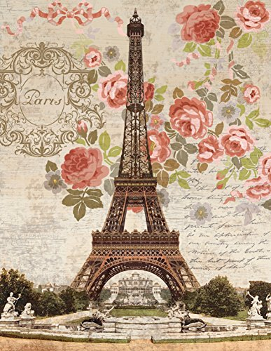 Lang  Dreaming Of Paris Boxed Note Cards by Suzanne Nicoll, 4 x 5.25 inches, 13 Cards and Envelopes (1005344)