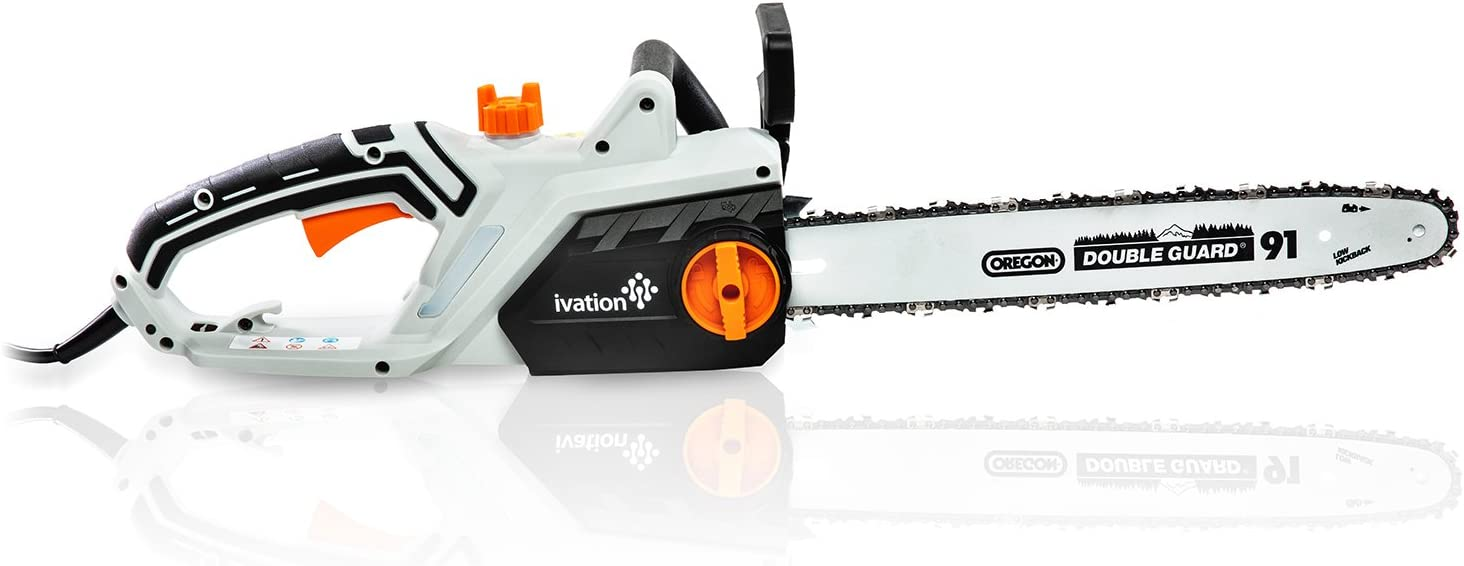 Ivation 16 Inch 15.0 Amp Electric Chainsaw