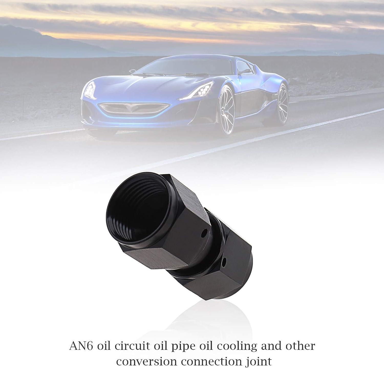 da femmina a femmina adattatore per tubo del carburante 2 connettori an-6 unit/à un accoppiatore 6 filettature in alluminio anodizzato