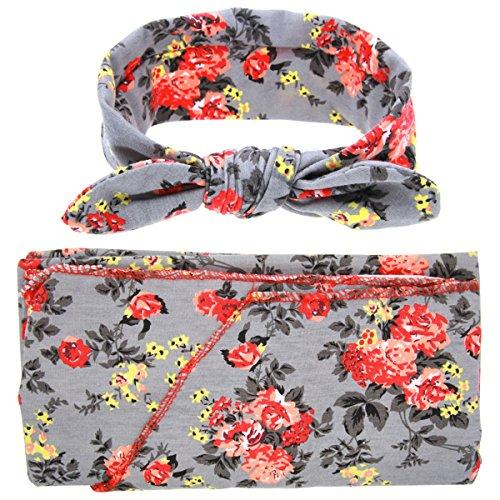Newborn Swaddling Blanket Sleeping Headband product image