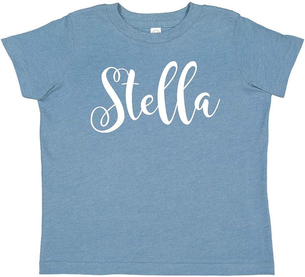 Personalized Name Toddler//Kids Short Sleeve T-Shirt Mashed Clothing Stella