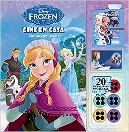 Frozen. Cine en casa: Cuento con proyector Disney. Frozen: Amazon ...