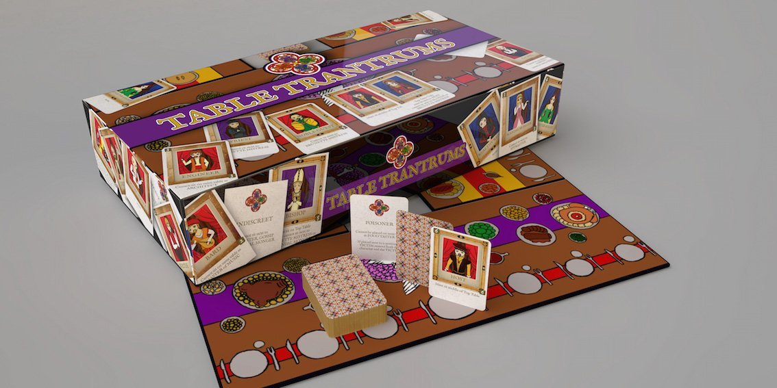 Tablet Wutanfälle Brettspiel Karten Renaissance Italien
