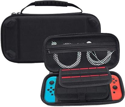 Estuche para Nintendo switch con cremallera antideslizante nylon ...