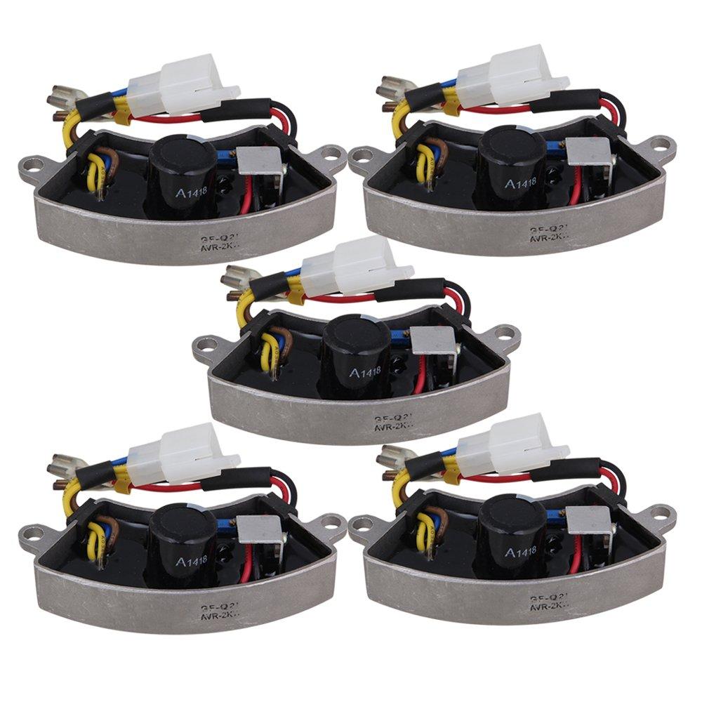 Yibuy 5X Single-Phase 2-3KW Voltage Regulator Petrol Generator Adjustable Output