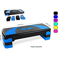 Xn8 Adjustable Stepper Step Block Cardiovascular Fitness Aerobic Exercise Gym Yoga