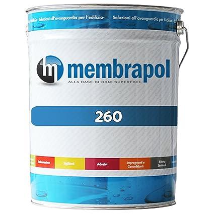 Membrapol 260 Impermeabilizzante Poliuretanico, Bianco, 6 kg: Amazon ...