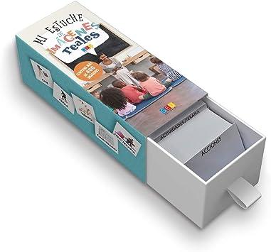 Mi estuche de imágenes reales / Editorial GEU / 400 tarjetas con imágenes reales / Recomendado para facilitar la comunicación del niño/a / Plastificado: Editorial Geu: Amazon.es: Juguetes y juegos