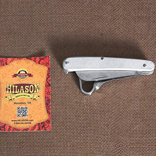 - HILASON Western Horse Care THINNING Knife W/HOOF Pick