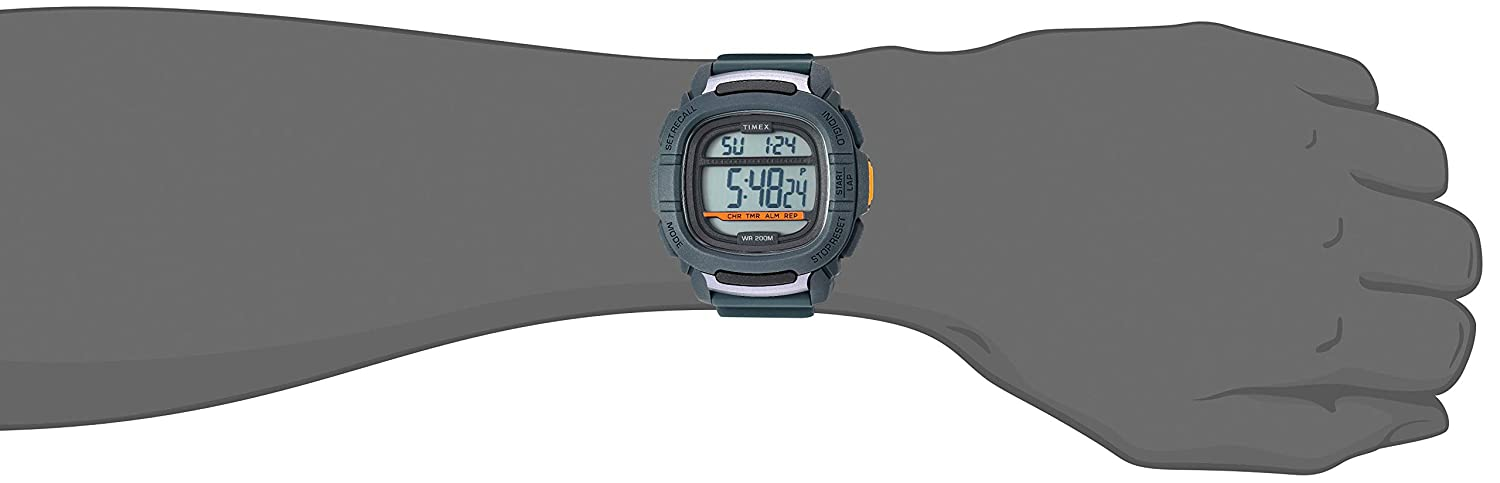 Amazon.com: Timex Mens TW5M26700 BST.47 Gray Silicone Strap Watch: Watches