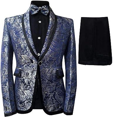 Cloudstyle Men's Tuxedo Casual Dress