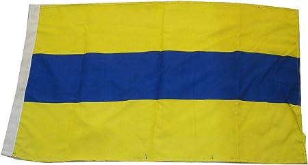 "Nautical // Boat Naval Signal Flag Marine Code LARGE FLAG B 16/"" X 28/"""