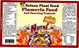 Nelson Plumeria Plant and All Flowering Tropicals Food Ferns Orchids Lilys in Ground Container Patio Grown Granular Fertilizer NutriStar 5-30-5 (25 LB)