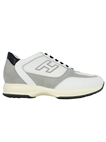 81ea79c1c82 Amazon.com | HOGAN Men's HXM00N0Q102KDY489Q White Leather Sneakers |  Fashion Sneakers