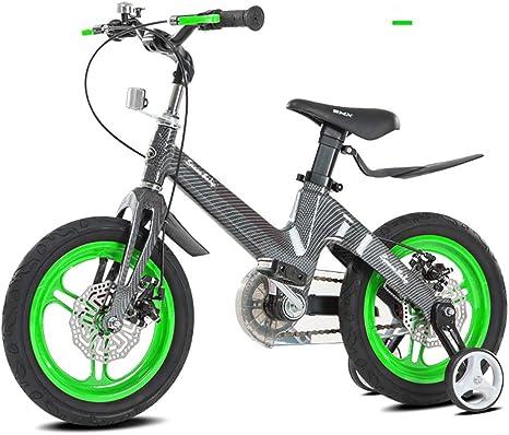 AleacióN Magnesio Bicicletas Infantiles,16 Pulgadas Bicicleta con ...