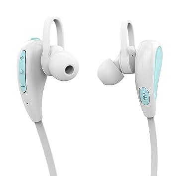 GranVela® S330 auriculares Bluetooth inalámbricos con cancelación de sonido y micrófono [deportes / correr
