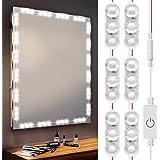 Hollywood Style Vanity Light Kits, 10Ft LED Make UP Lights, Daylight White Mirror Light, IP67 Waterproof for Vanity Mirror Li
