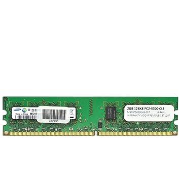 Amazon.com: Samsung 2 GB RAM DDR2 PC2 – 5300, 667 MHz 240 ...