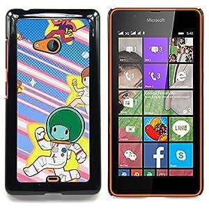 SKCASE Center / Funda Carcasa protectora - Estrella Runners;;;;;;;; - Nokia Lumia 540