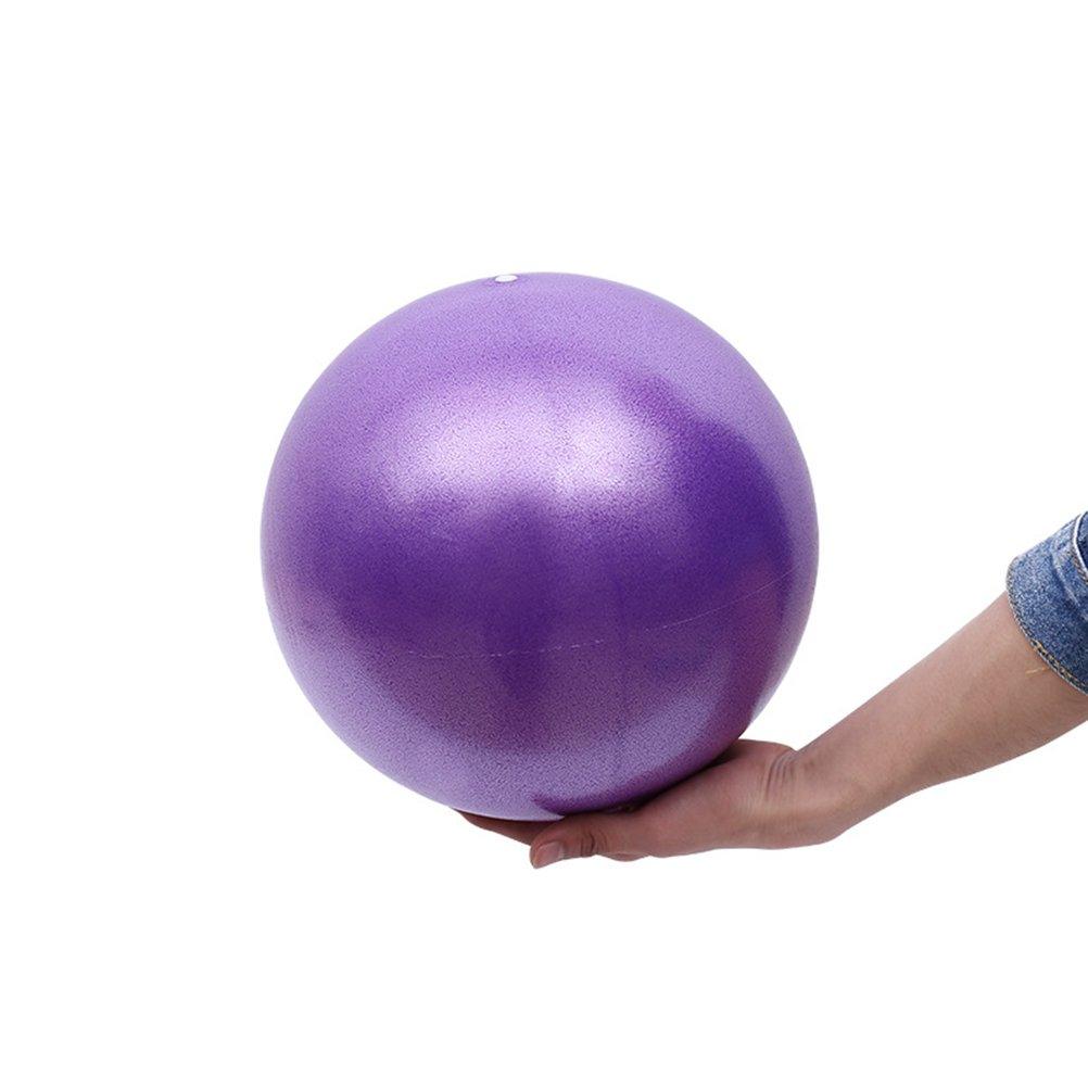 VORCOOL Pelota de Ejercicios de Pelota de Mini Pilates de Yoga para Ejercicios Abdominales y Ejercicios Bá sicos de Rehabilitació n de Hombros (25 cm de Color Pú rpura)