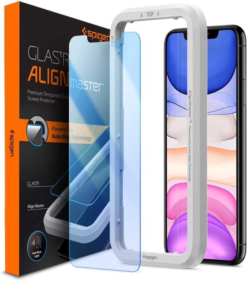 Spigen, Filtro Luz Azul Protector Pantalla iPhone 11 / XR, Align ...