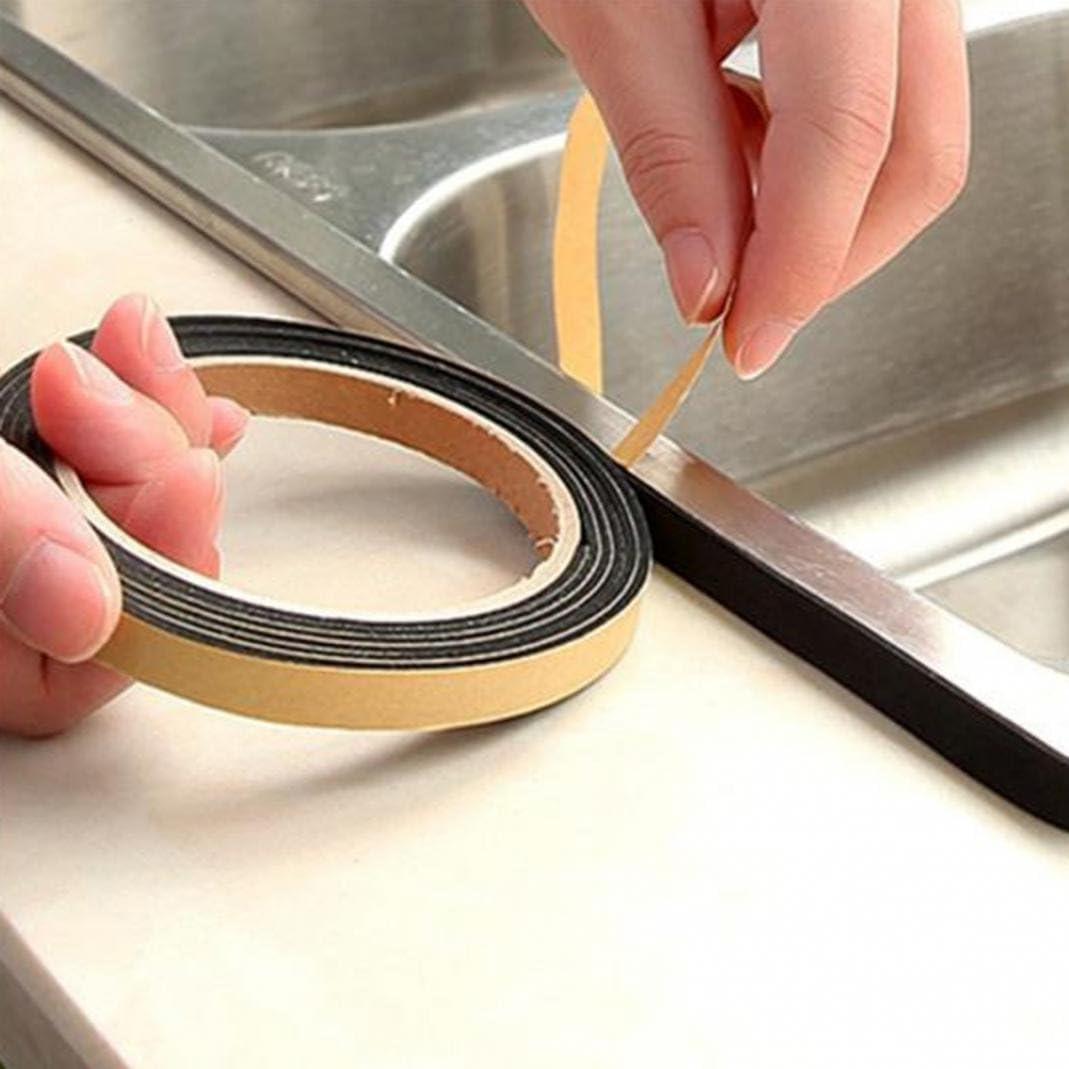 Protection pour porte R/ésistant /à la poussi/ère et aux intemp/érie /évier po/êle /à gaz Joint d/étanch/éit/é autocollant pour la cuisine Anti parasite Taille M al/éa fen/être
