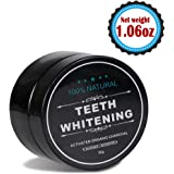 Teeth Whitening Charcoal Powder - Natural Activated Charcoal Powder Teeth Whitener of Organic Coconut Shells with Spearmint Flavor for Healthy Cleaner Whiter Teeth-Recapture Your Smile