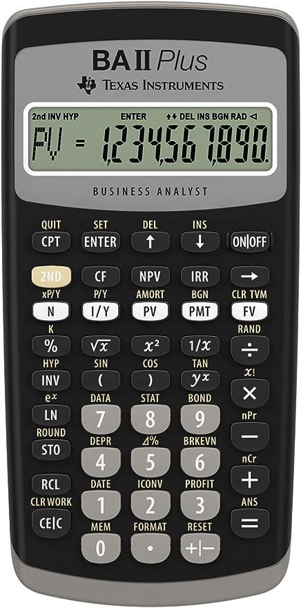 Texas Instruments BA II Plus Financial Calculator at Kapruka Online for specialGifts