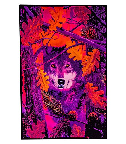 blacklight reactive poster large