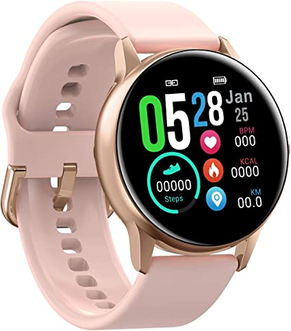 Amazon.com: Bounabay Smart Watch for Android iOS Phone ...