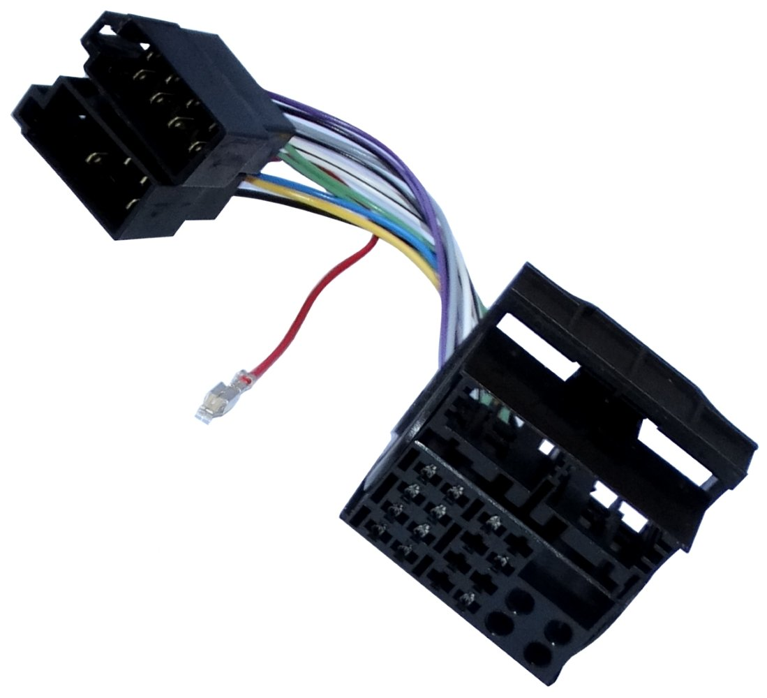 Aerzetix - ISO-Konverter - Adapter - Kabel Radioadapter Radio Kabel Stecker ISO-Kabel Verbindungskabel SK2-C11930-A172