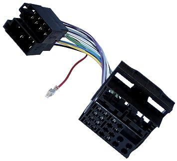AERZETIX: Adaptador cable enchufe ISO para radio de coche, vehiculos C11930
