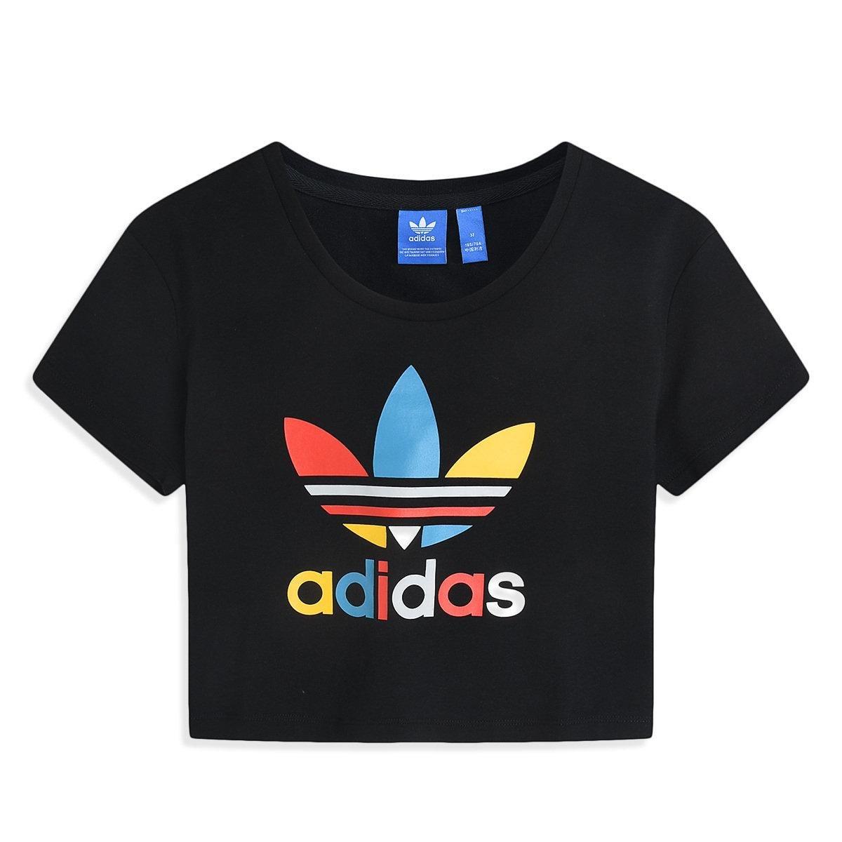 Adidas Slim Crop Camiseta de Manga Corta para Mujer: Amazon.es: Deportes y aire libre