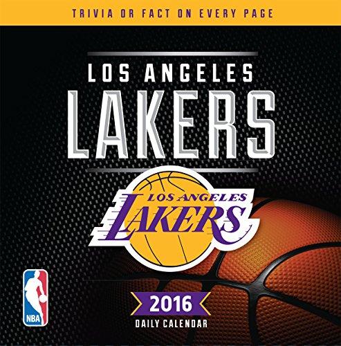 Lang Turner Los Angeles Lakers 2016 Box Calendar, January...