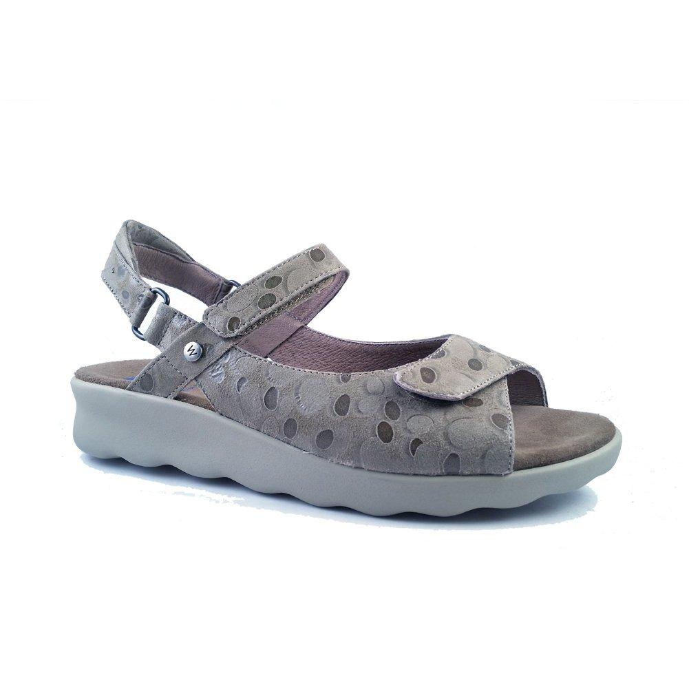 Wolky Comfort Sandals 01890 Pichu B076QFQHHW 41 B EU Beige Circles