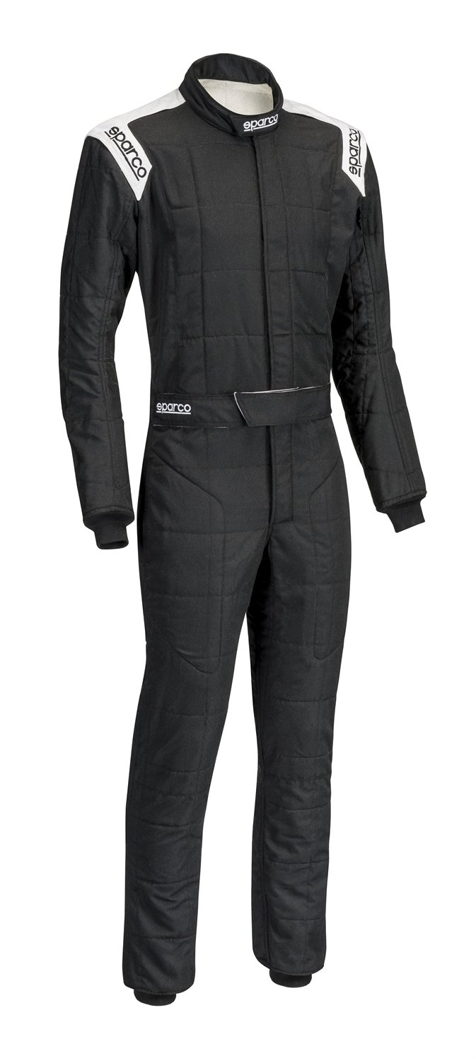 Sparco Men's Suit (Conquest) (Black/White, X-Large) by Sparco