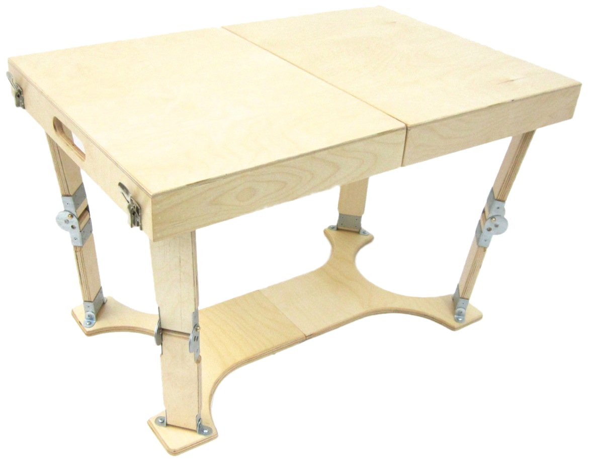 Amazon.com: Spiderlegs Folding Coffee Table, 28 Inch, Natural Birch:  Kitchen U0026 Dining