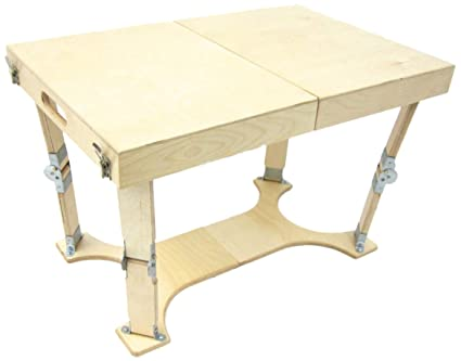 Amazoncom Spiderlegs Folding Coffee Table 28Inch Natural Birch