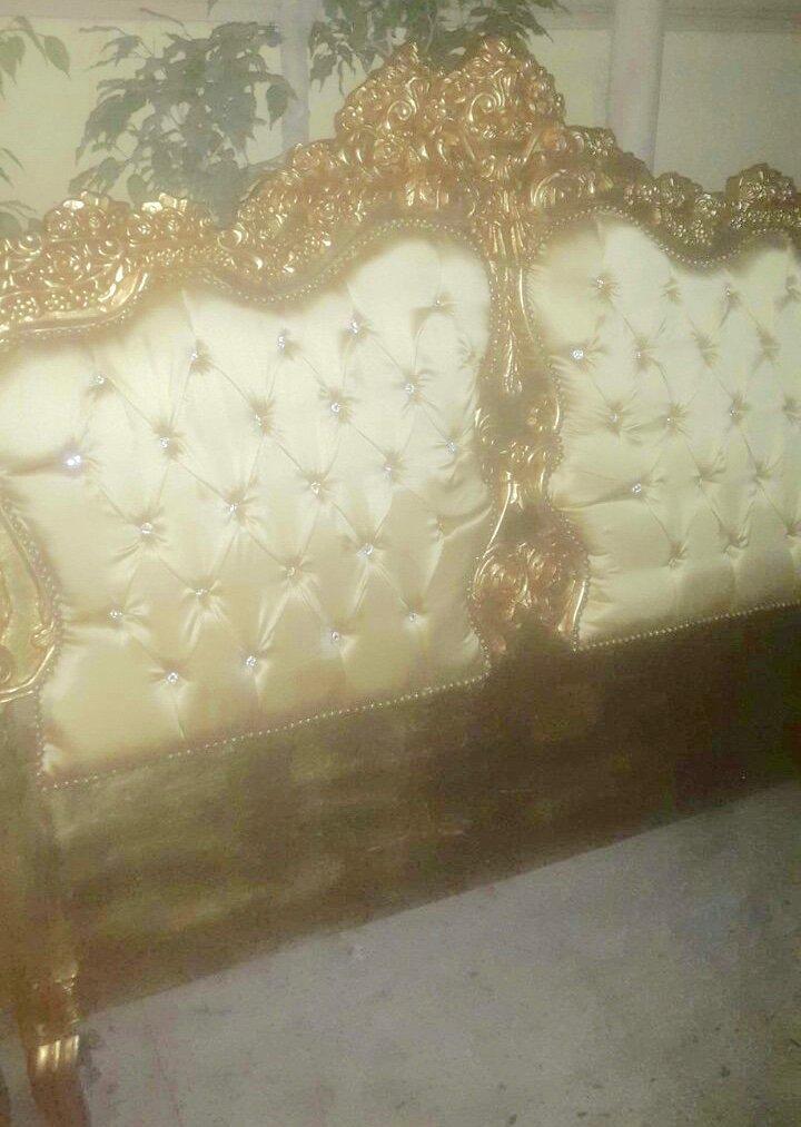 Barock Bett rokoko Louis XV MkBd0071