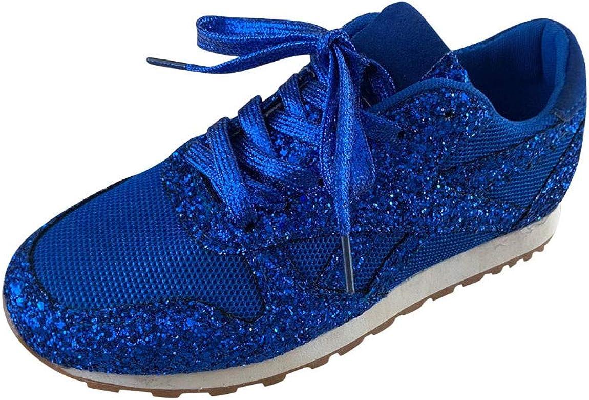 YGbuy Brillante Zapatillas de Deporte con Mesh Calzado de Running ...