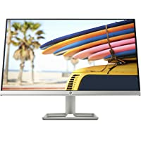 "HP 24FW Monitor 24"" con Altoparlanti Audio Integrati, con Tecnologia AMD FreeSync, Display IPS Full HD, Risoluzione 1920 x 1080, Supporto Monitor Inclinabile, Argento"