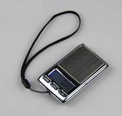 Mini balanzas electrónicas de precisión, bolsillos portátiles, balanzas de palma, balanzas de joyería