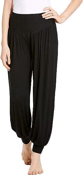 Hoter Womens Yoga Harem Pants Soft Modal Elastic Fitness Loose Casual Lounge Yoga Pants Plus Size
