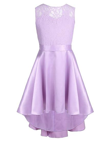 Feeshow Vestidos Niña Fiesta Elegante De Princesa Vestido De