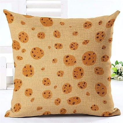 Amazon.com: YANYANGXIN - Almohadas de algodón con núcleo de ...