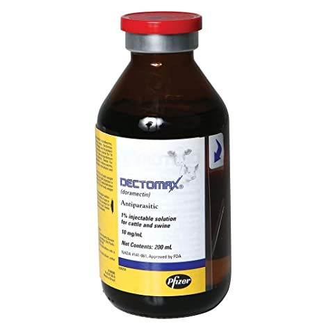 Dectomax 1% Injectable Solution -200 ml Bottle