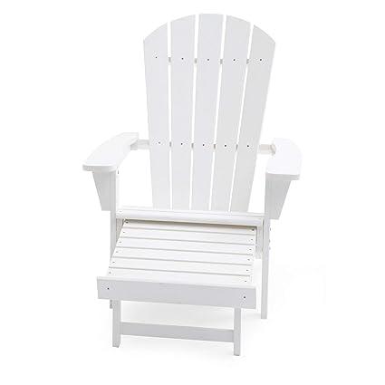 Amazon.com: Cottage - Silla de resina blanca para todo tipo ...