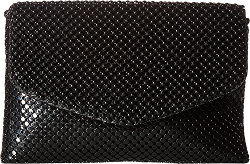 Jessica McClintock Brooklyn Envelope Mesh Clutch, Black (Mesh Clutch Sequin)